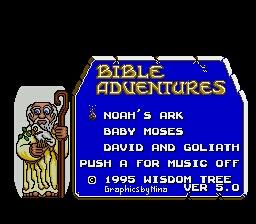 Bible Adventures (USA) (Unl)-0