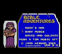 Bible Adventures (USA) (Unl)-1