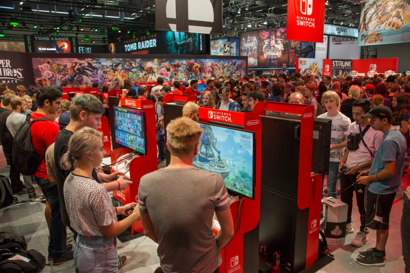 Stand: Nintendo, Halle 9