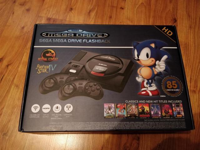 "Hardware Review: ""Sega Mega Drive Flashback HD"" von ATGAMES"