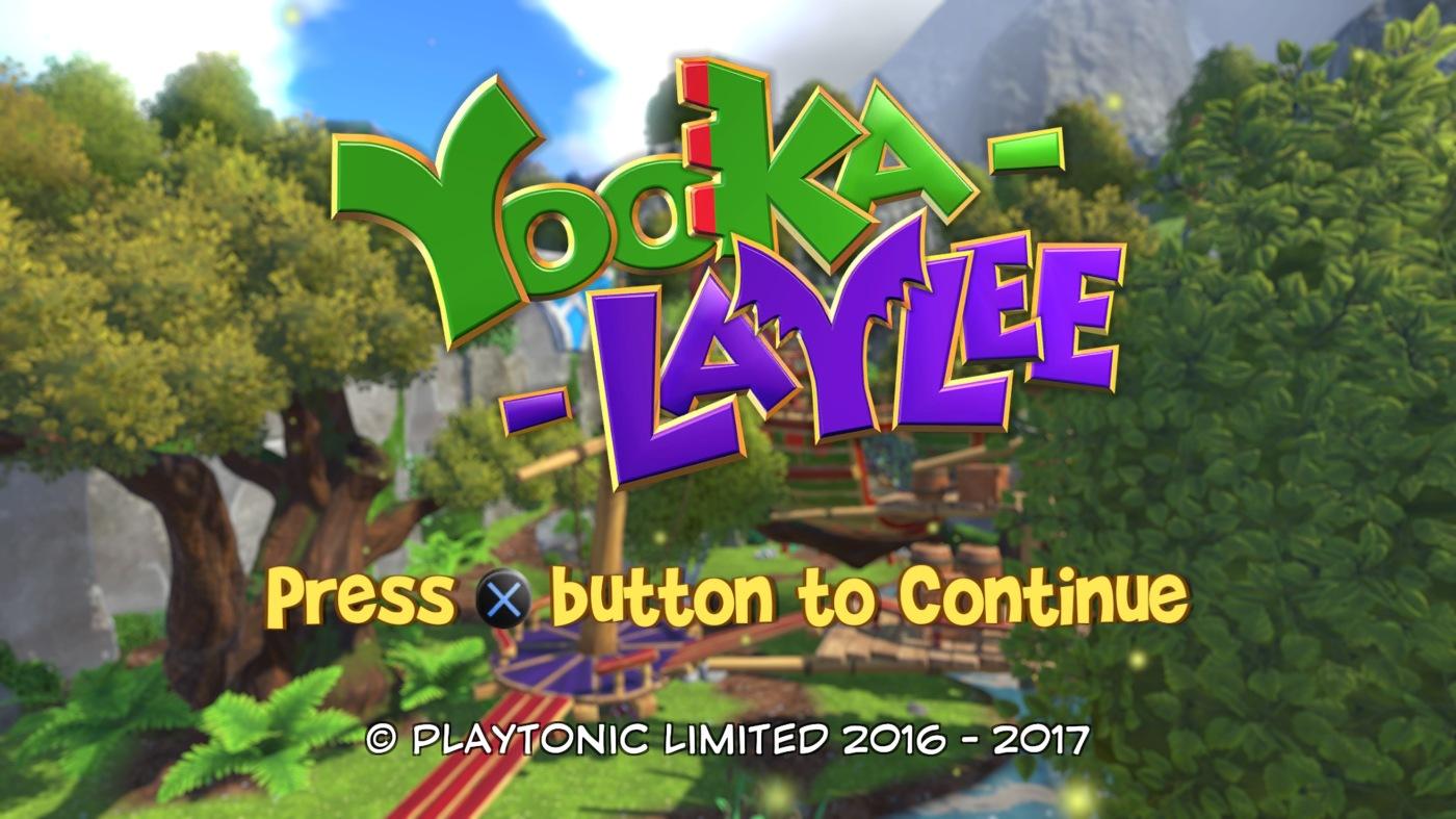 Ps4 Yooka Laylee Was Bietet Der Spirituelle Nachfolger Von Banjo Kazooie Zum Kickstarter Hit Wurde