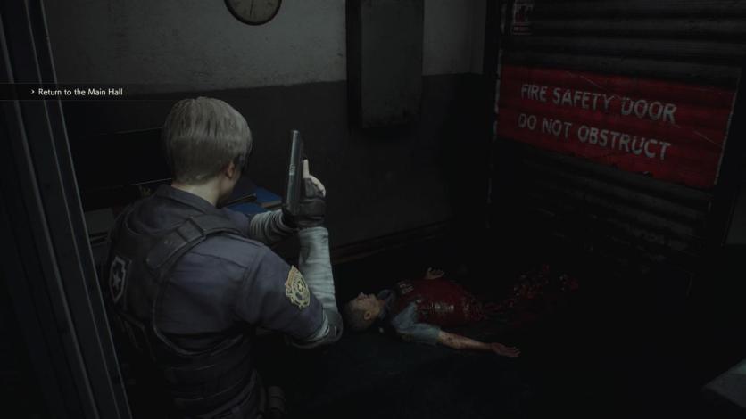 """RESIDENT EVIL 2 """"1-Shot Demo""""_20190111220625"""