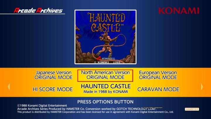 Arcade Archives HAUNTED CASTLE_20190601222758.JPG