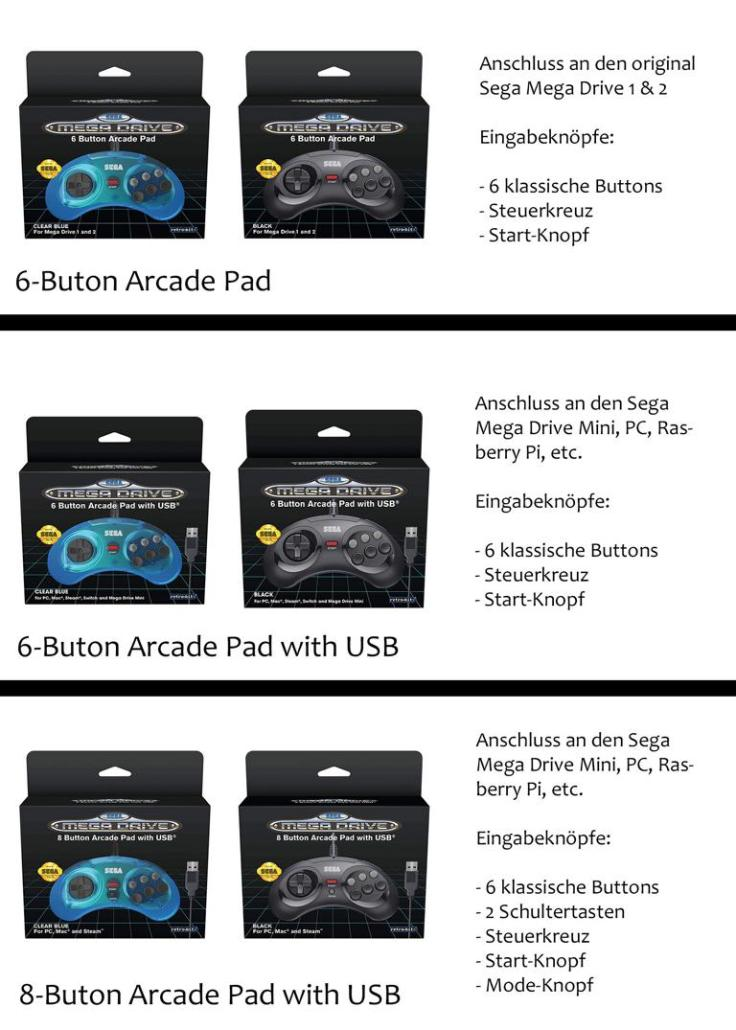 Mega Drive Controller Varianten.JPG